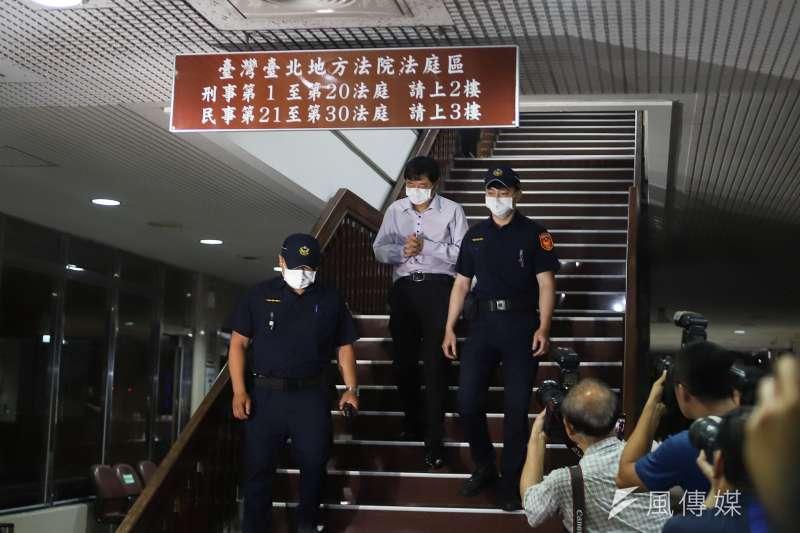 北院雖然認定趙正宇貪汙嫌疑重大,但出面收賄的林家麒已遭羈押,因此讓趙交保不影響檢方偵查。(陳品佑攝)