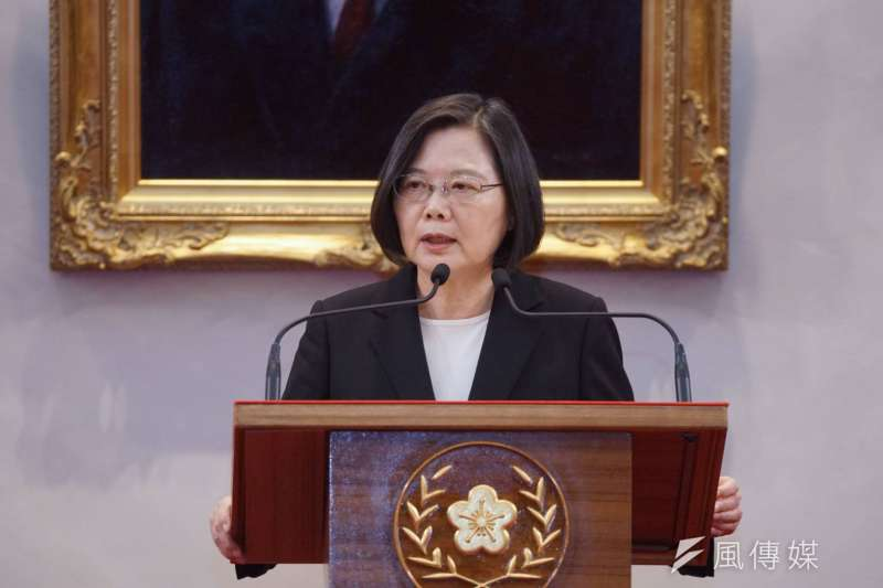 作者指出,總統蔡英文連任後,台灣「欲獨卻不願戰」的精神矛盾,也注定了自己身處地緣狹縫間。(資料照,盧逸峰攝)