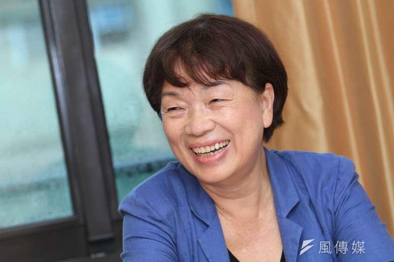 前文化部長、作家龍應台10月3日在臉書上寫了一段有關戰争的故事引發議論。(資料照,蔡親傑攝)