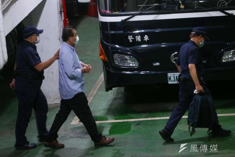 20200804-台北地院4日下午裁定立委蘇震清羈押禁見。(顏麟宇攝)