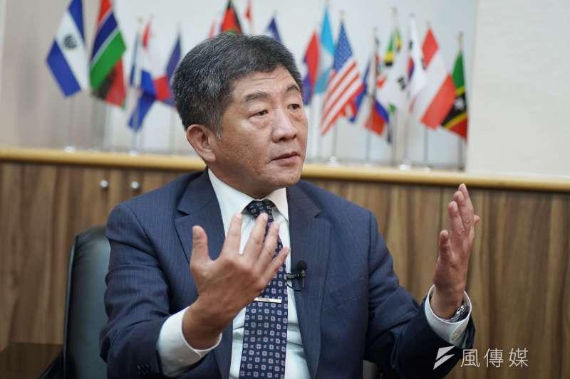 20200805-衛福部長陳時中5日接受《風傳媒》專訪。(盧逸峰攝)