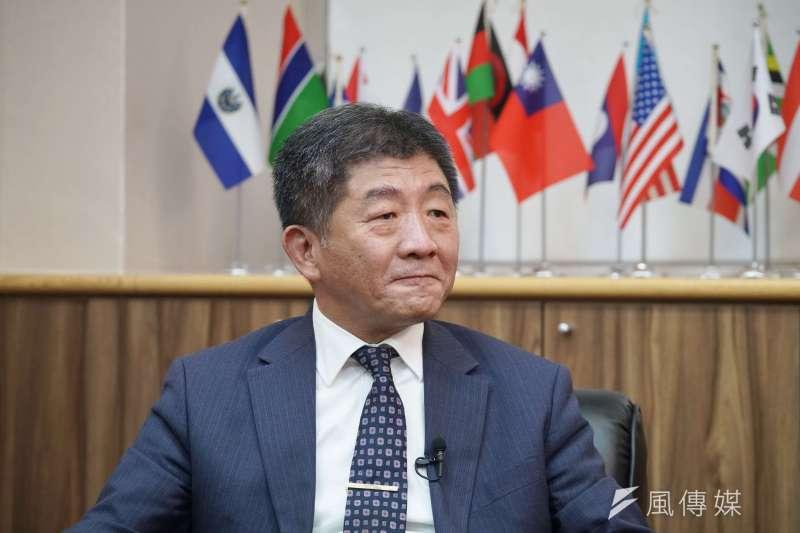 衛福部長陳時中5日接受《風傳媒》專訪時指出,沒有下一步,這一步要踩好,未來最重要的工作是做好防疫、健保改革。(盧逸峰攝)