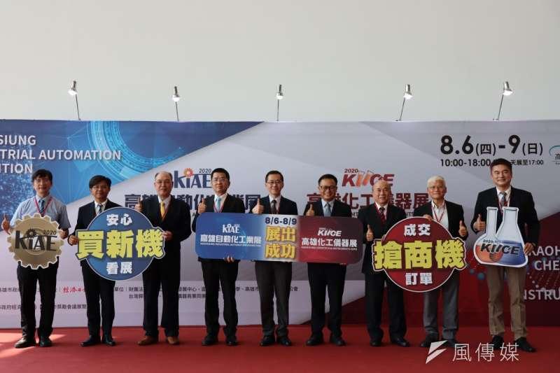 金屬中心結合自動化工業展,活動已於(6)日開幕共展出四天。(圖/徐炳文攝)