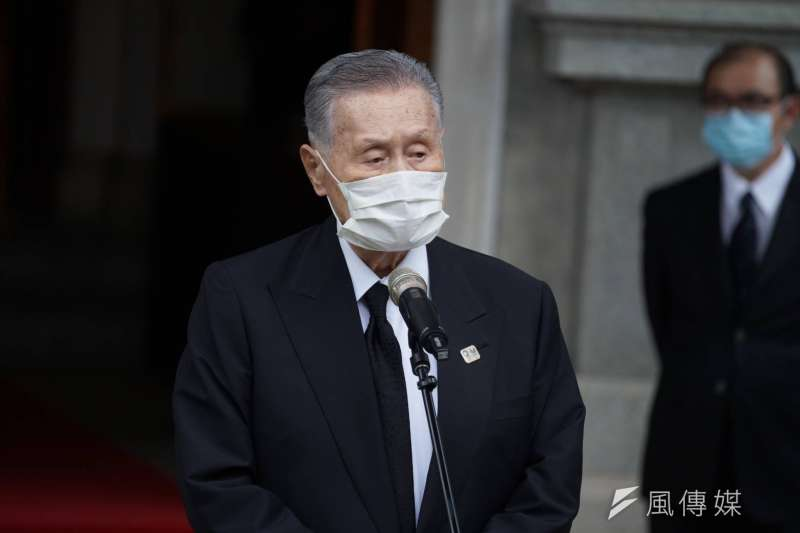 日本前首相森喜朗(見圖)9日率日本國會跨黨派議員來台弔唁前總統李登輝。(盧逸峰攝)