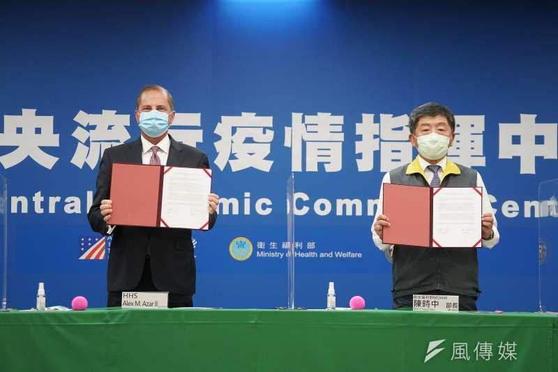 對於日前台美簽署的「醫衛合作瞭解備忘錄」內容,中華戰略學會研究員張競提出3點質疑。(資料照,盧逸峰攝)