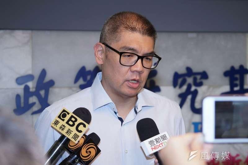 駐德國台北代表處代表謝志偉(見圖)認為,「反戰」不是無差別的反戰,並且質疑在面對中共武嚇台灣時,對台灣人猛喊「反戰」的公信力在哪?(資料照,盧逸峰攝)