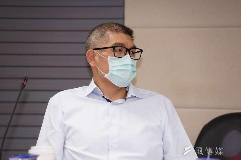 20200810-國民黨中央委員連勝文10日出席「新冠疫情對全球與台灣經濟的影響與因應座談會」。(盧逸峰攝)