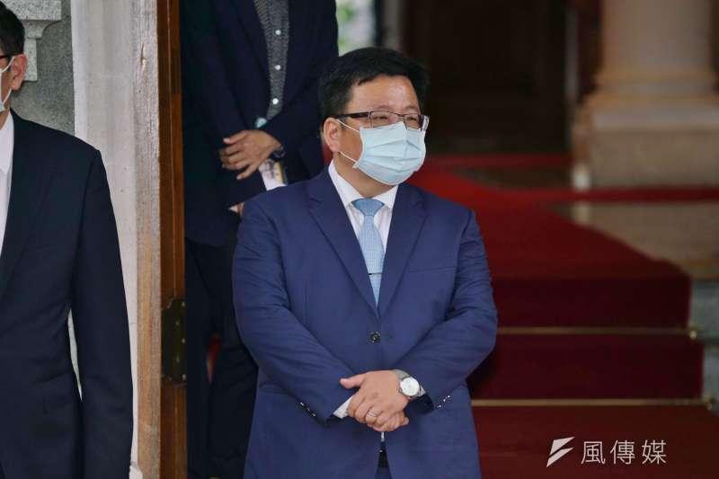總統府副秘書長李俊俋(見圖)表示,執政黨聲援香港卻不推動《難民法》的理由,是為了避免曠日費時。(資料照,盧逸峰攝)
