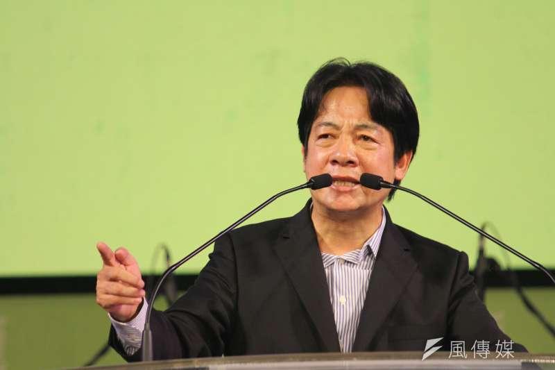 對於前總統馬英九的發言,副總統賴清德(見圖)批評,馬不僅僅悖離國際現實,也誤解了台灣人民的認知。(資料照,黃信維攝)