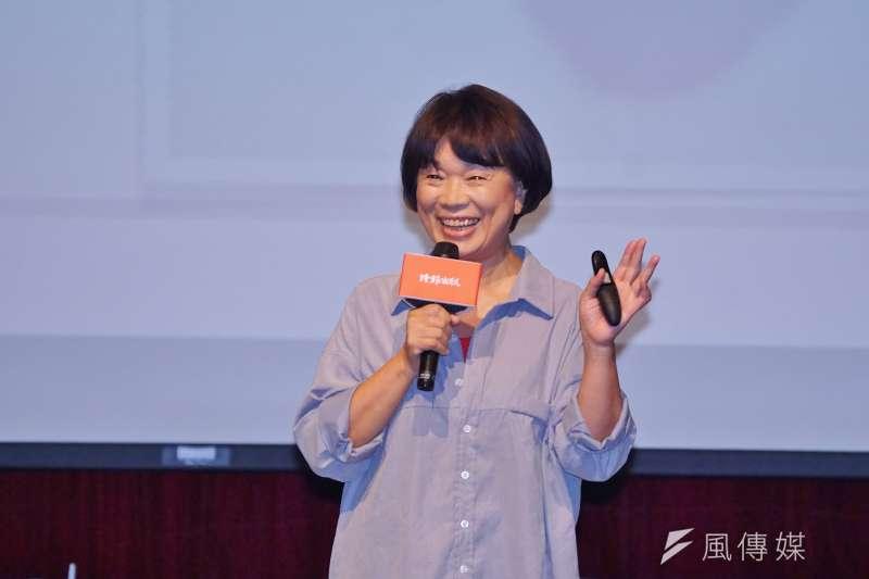 20200816-作家龍應台16日舉行《大武山下》讀者見面會。(盧逸峰攝)