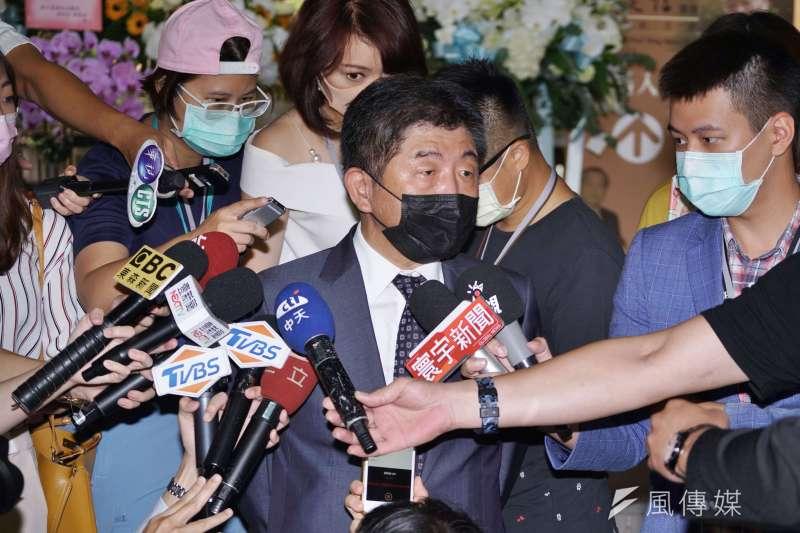 中央流行疫情指揮中心指揮官陳時中今(25)日說,彰化萬人血清抗體研究先前不斷對社會報告引發討論,現在卻蓋牌惹議,盼研究者說清楚。(資料照,盧逸峰攝)