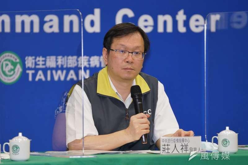 疾管署副署長莊人祥(見圖)表示,有人說這場「新型冠狀病毒檢測研討會」可能會成為防疫的「八二三炮戰」,但他希望大家點到為止就好。(資料照,盧逸峰攝)