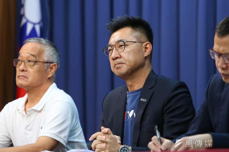 高雄市長選舉落敗後,國民黨主席江啟臣(見圖)表示,要加強在地人才培訓,也要同步加速選務人才培養。(資料照,顏麟宇攝)