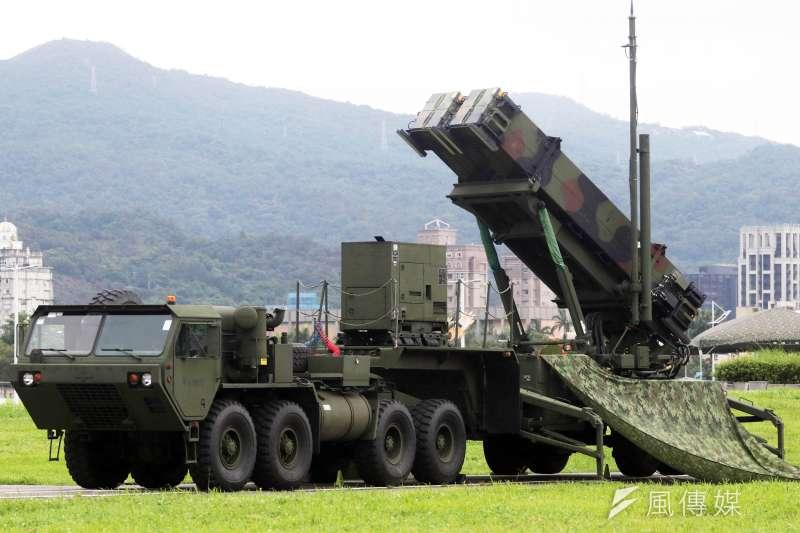 為反制中共彈道飛彈,軍方接續執行愛三軍購案,且這次將採購標的放在增程型(MSE)。圖為愛國者三型飛彈。(資料照,蘇仲泓攝)