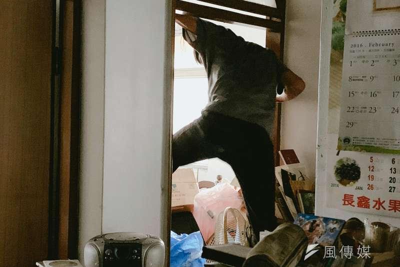 20200804-「人生萬事屋」專題,所募集來的清潔人員面對的工作案子,五花八門(謝孟穎攝)