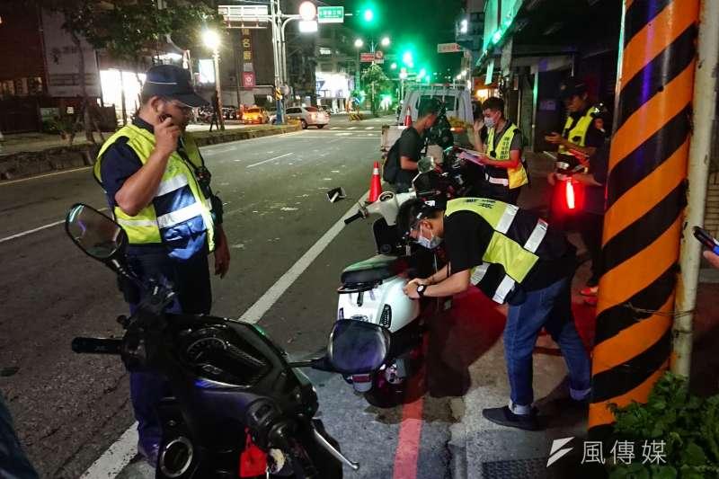 全國將於9月1日起將於易肇事路段實施各項交通規則的大執法,為的是使用路人建立良好的路口停讓文化,營造安全友善的交通環境。(資料照,新北市環保局提供)