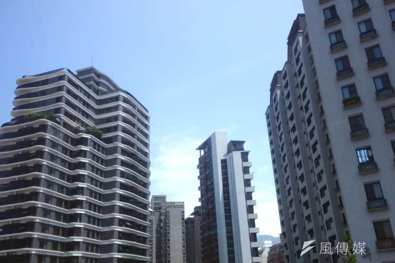 北市房價已連兩年上漲,近一年漲幅1.5%。(林瑞慶攝)