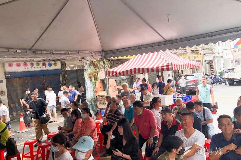 20200822-台灣民眾黨22日接連在台北內湖、基隆市舉行2服務處成立大會。(方炳超攝)