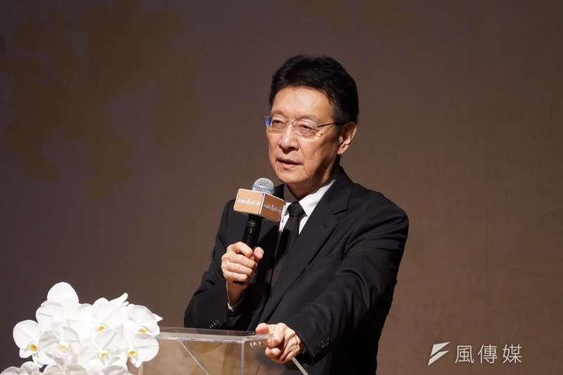 20200823-媒體人趙少康23日出席郝柏村追思紀念會。(盧逸峰攝)