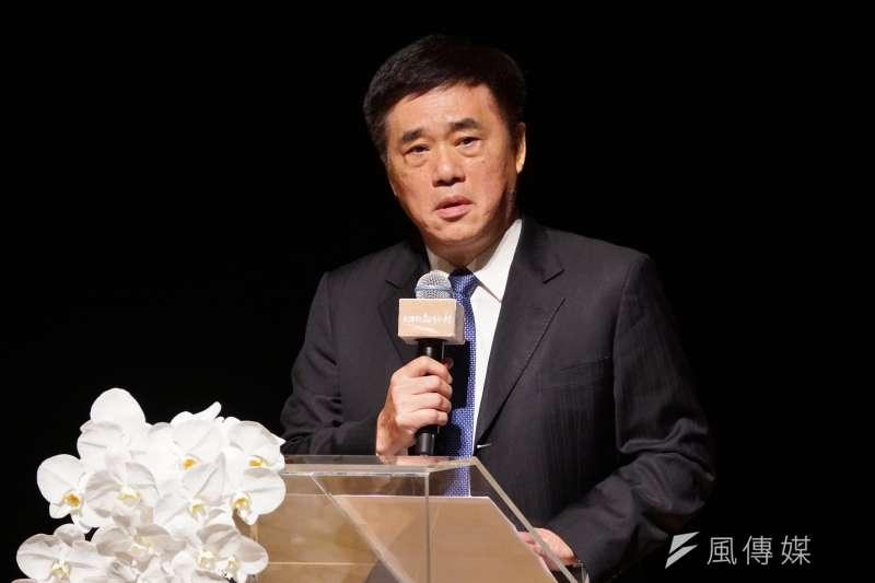 前台北市長郝龍斌(見圖)透露,其實辦追思會是有違父親遺願的,因為當初郝柏村有特別交代,希望過世後不要特別去叨擾好友同僚。(盧逸峰攝)