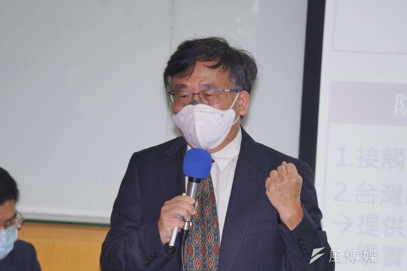 參與彰化血清抗體調查計畫的台大公衛教授陳秀熙(見圖)認為,台灣阻斷感染的能力相當出色,在這次調查中,醫護人員竟然0感染,這代表醫院的控管能力極佳。(盧逸峰攝)