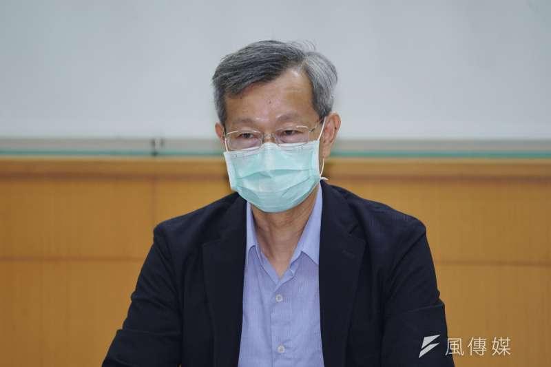 20200827-彰化縣衛生局長葉彥伯27日出席血清抗體調查結果發布會。(盧逸峰攝)