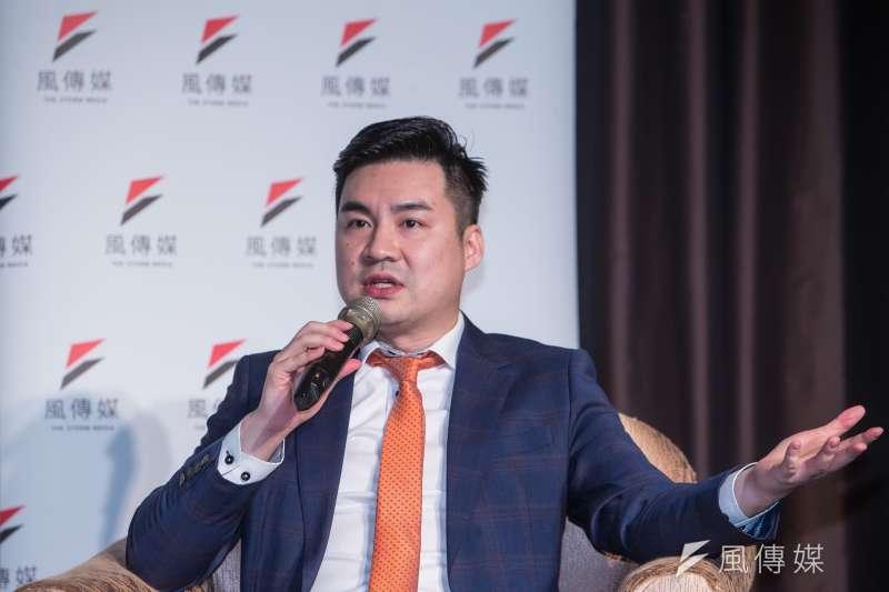 20200827-國家政策基金會研究員黃裕鈞27日出席「2020美國總統選戰 X 中美新冷戰」台灣觀戰指南座談會。(顏麟宇攝)