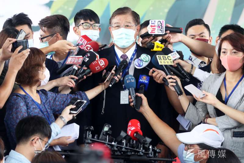 20200828-漢翔公司總經理馬萬鈞接受訪問。(蘇仲泓攝)