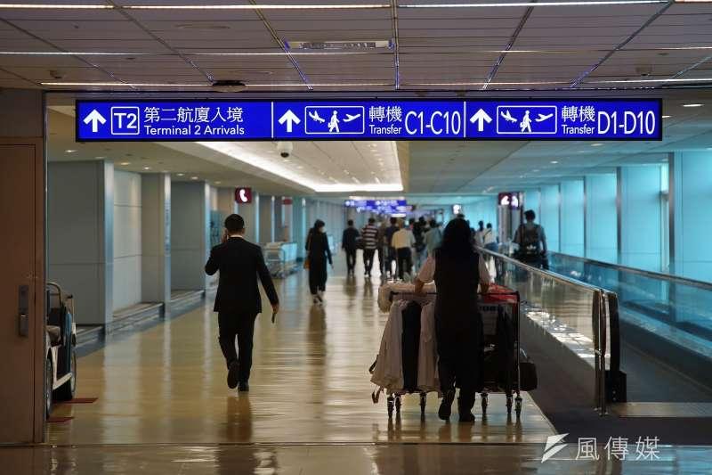 雇用徵信社跟拍在台香港社運人士的李彬豪,今(25)日遭移民署強制出境。示意圖,圖為桃園國際機場一景。(資料照,盧逸峰攝)