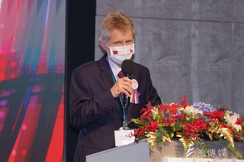 20200831-台捷貿易投資論壇31日登場,圖為捷克參議院議長韋德齊。(盧逸峰攝)