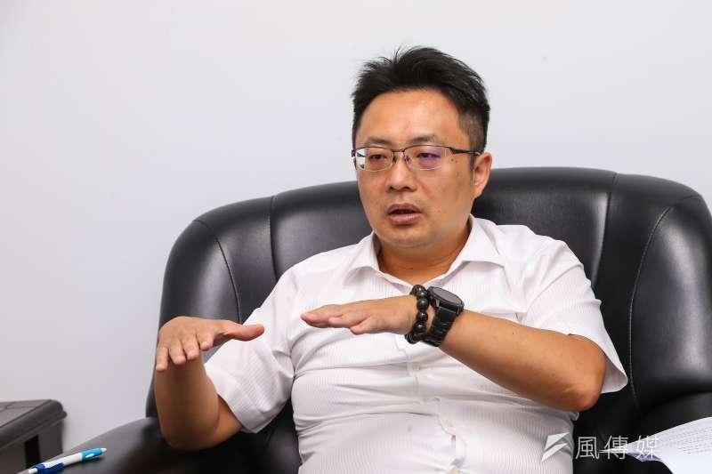禾聯碩副董事長蔡柏毅(見圖),是董事長蔡金土的獨子,近年逐漸公開在媒體前亮相。(資料照,顏麟宇攝)