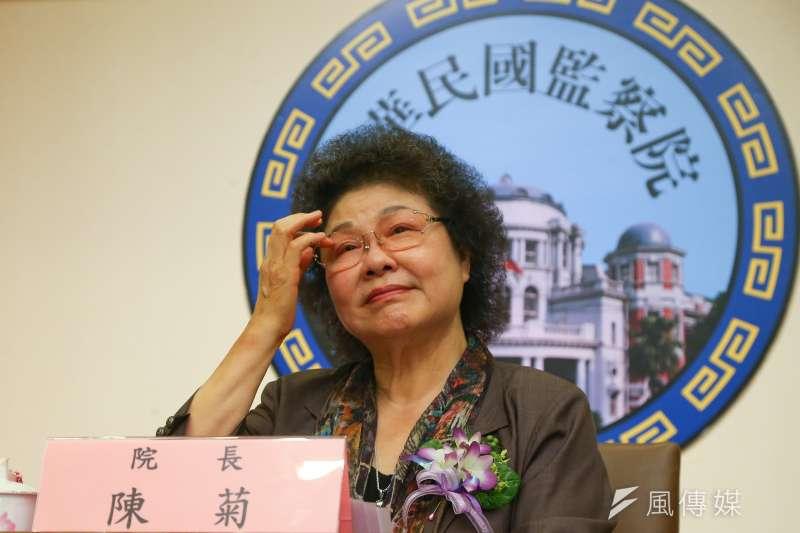 監察院烏龍調查台北市議員羅智強的政治獻金,羅智強則到監察院告發三案,包括調查監察院長陳菊。(顏麟宇攝)