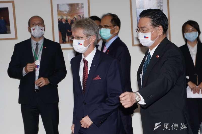 捷克參議院議長韋德齊率團來台參訪。(資料照,盧逸峰攝)