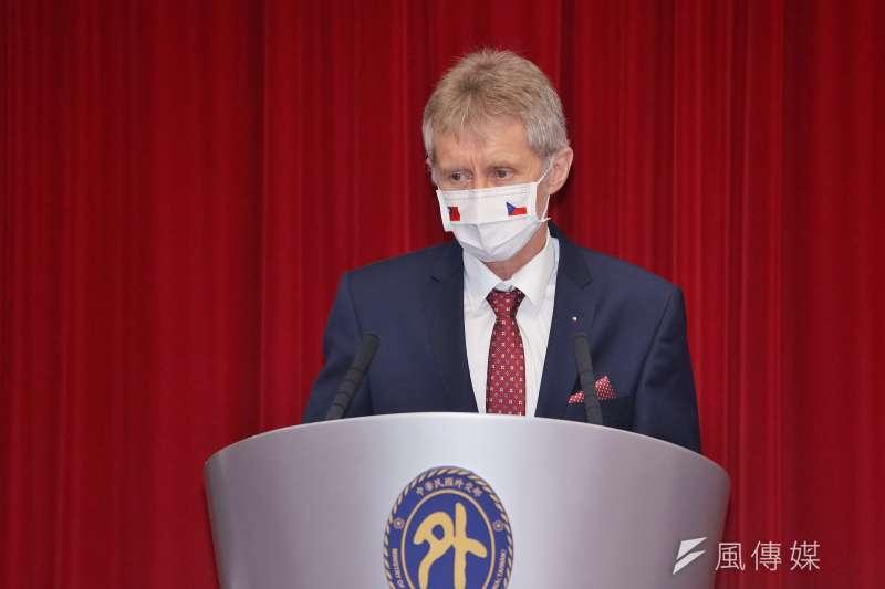 捷克參議院議長韋德齊日前率團訪台。(資料照,盧逸峰攝)