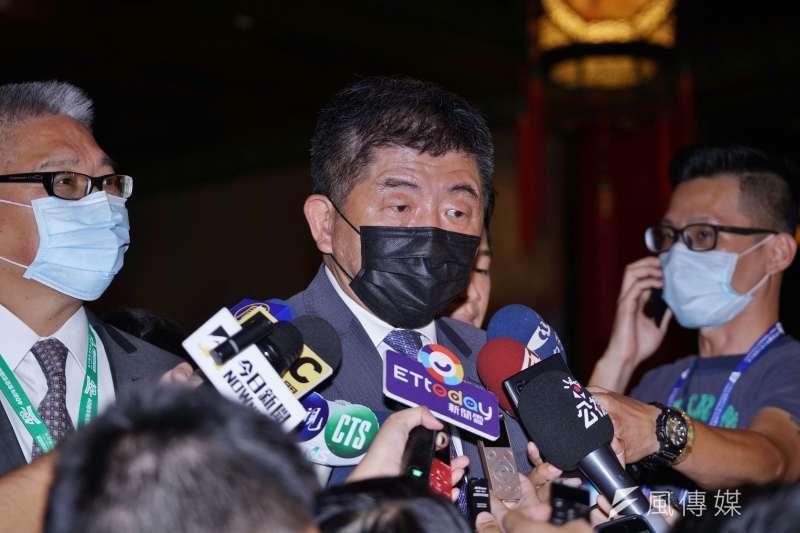 針對中國混充口罩事件,衛福部長陳時中直言,加利公司其實已被勒令停工,因此他們不是自己想退出,而是「根本沒資格再當國家口罩隊。」(資料照,盧逸峰攝)