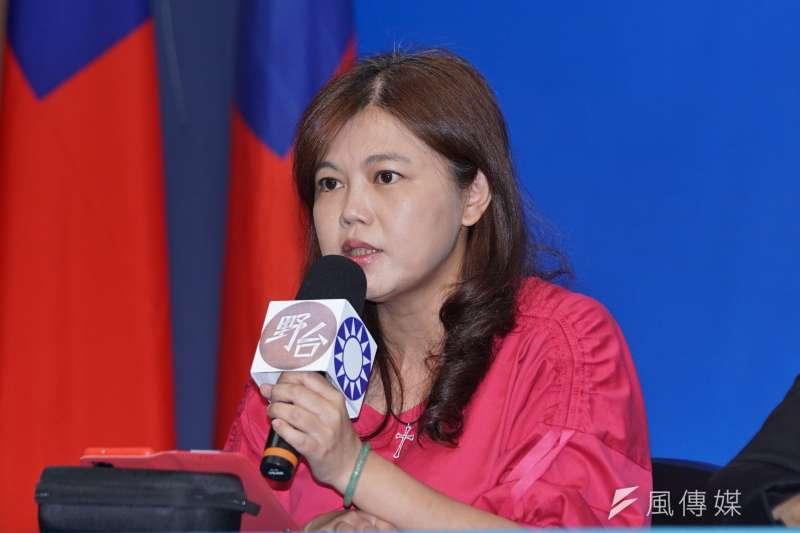 國民黨台北市議員游淑慧22日在政論節目中,針對近期兩岸關係進行分析。(資料照,盧逸峰攝)