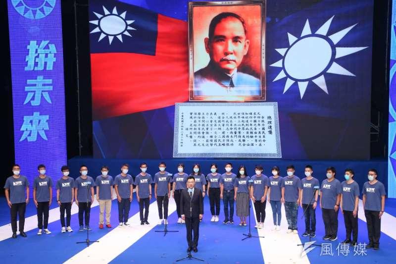作者認為,國民黨作為臺灣的「外來政權」,如果與「中國大陸」切割,「中華民國」就失去了存在的意義,國民黨在臺灣的統治也失去了天然的正統性。(資料照,顏麟宇攝)