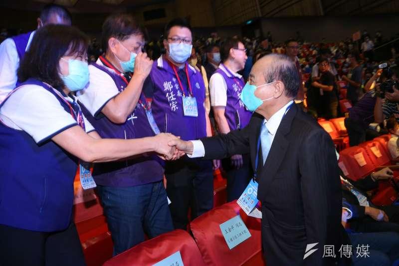 20200906-前立法院長王金平6日出席國民黨全代會。(顏麟宇攝)