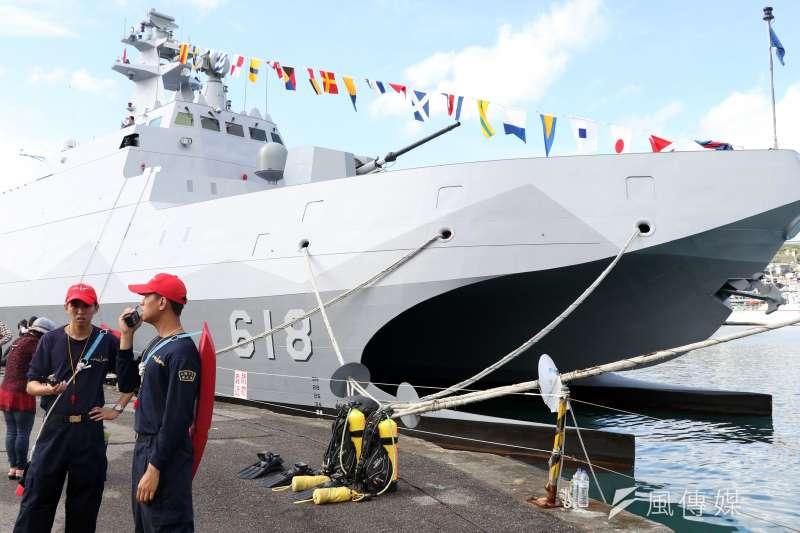 20200907-海軍沱江艦。(蘇仲泓攝)