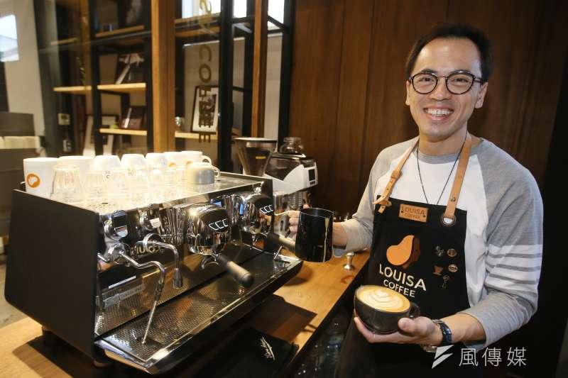 2020.09.07-路易莎咖啡董事長 黃銘賢。(柯承惠攝)