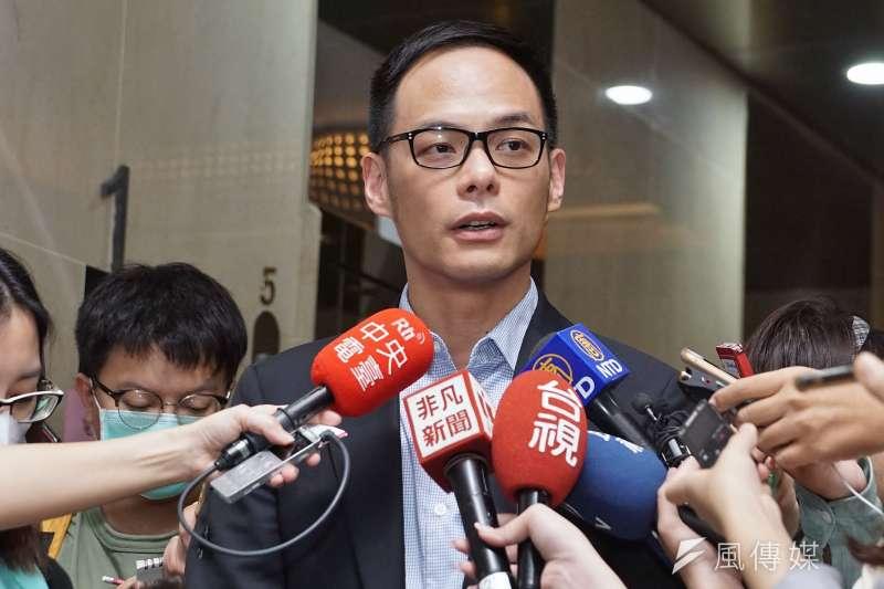 台灣大總經理林之晨表示,希望第二次5G釋照以國際主流頻段的3.3GHz到4.2GHz為主,不僅生態系比較成熟,對國內業者的應用發展也比較好。(盧逸峰攝)