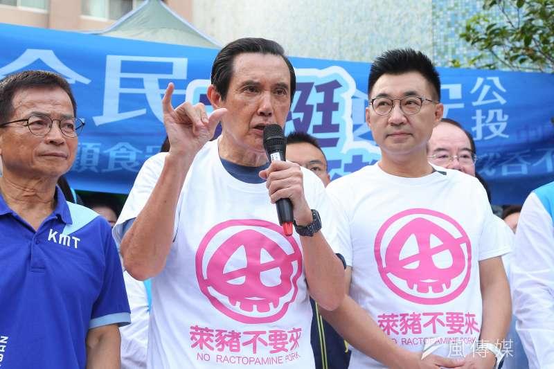 前總統馬英九(見圖)說,總統蔡英文當年說ECFA是糖衣毒藥,「顯然她決定繼續吃毒藥」。(顏麟宇攝)