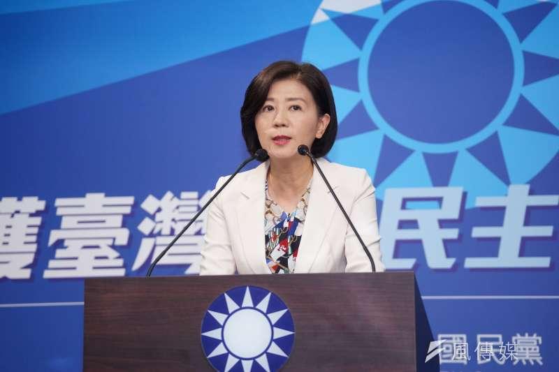國民黨文傳會主委王育敏(見圖)宣布不以政黨形式參加今年在中國廈門舉行的海峽論壇。(資料照,盧逸峰攝)