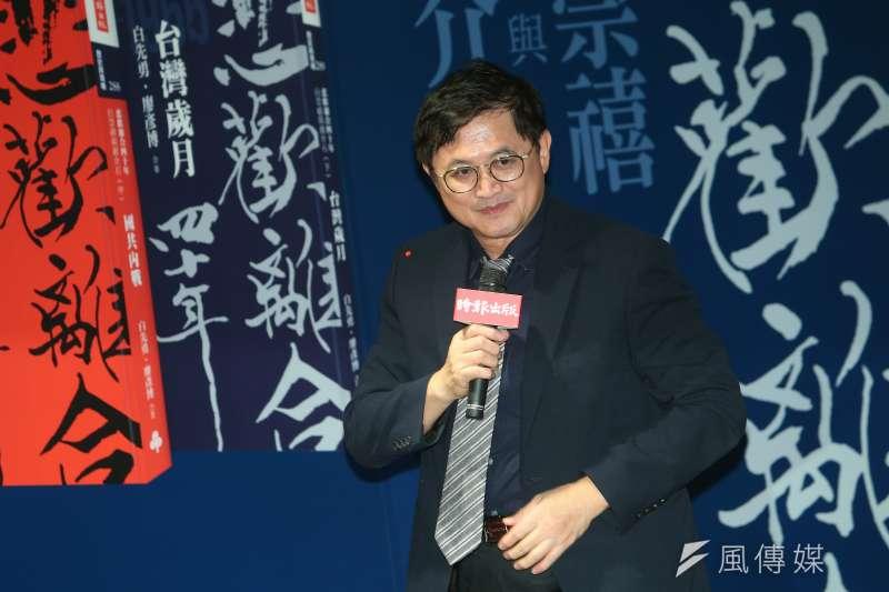 和碩董事長童子賢(見圖)警告,台灣正在吃40年前政策奠定下的老本,40年後要吃什麼?政策在哪裡?(資料照,顏麟宇攝)
