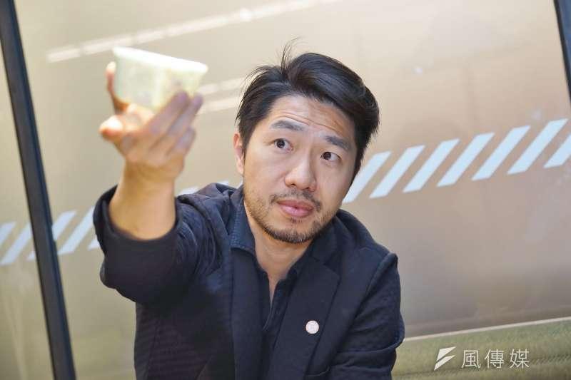 20200915-Miniwiz小智研發執行長黃謙智接受《風傳媒》專訪。(盧逸峰攝)