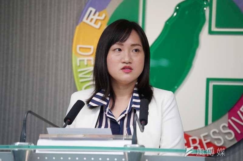 民進黨發言人謝佩芬(見圖)16日表示,海峽論壇是中共對台的統戰工具,更是與台灣主流民意背道而馳。(資料照,盧逸峰攝)