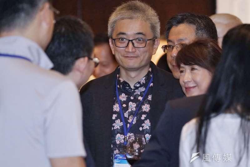20200917-PTT創辦人杜奕瑾17日出席玉山科技協會年會。(盧逸峰攝)