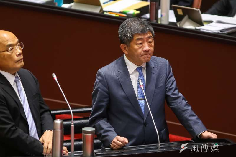 衛福部長陳時中25日備詢時表示,已與COVAX簽約,將不會選擇中國疫苗。(資料照,顏麟宇攝)