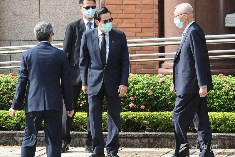 前總統馬英九、前副總統吳敦義19日出席前總統李登輝先生追思告別禮拜。(台北市攝影記者聯誼會提供)