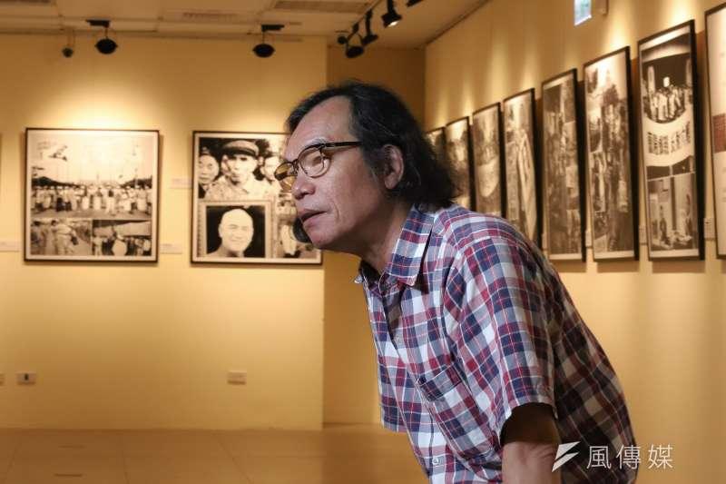 2020.09.18-前《自由時代》雜誌攝影記者宋隆泉,談黨外雜誌記者經歷與戒嚴記憶。(陳品佑攝)